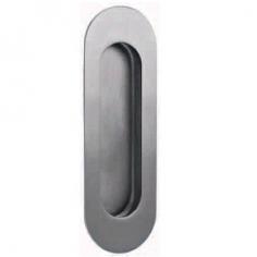 Concha de embutir oval com fixação oculta