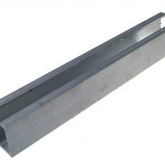 Carril superior para portas de roupeiro suspenso silent
