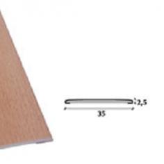 Perfil de transição em PVC 35mm adesivo