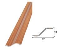 Perfil de desnível em PVC 37mm adesivo