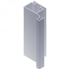 Perfil puxador para portas de cozinha 672-08 gola lateral