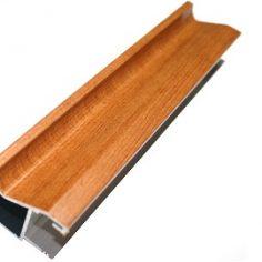 Perfil 16mm puxador para portas de madeira