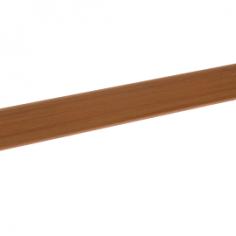 Perfil de cantoneira em PVC 20x8mm adesivo