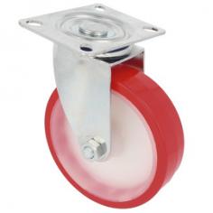 Roda em poliuretano 2540 com núcleo nylon