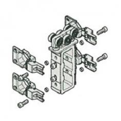 Roda superior central para porta de roupeiro de fole
