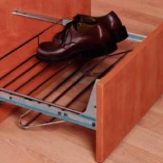 Sapateira extensível com frente de gaveta
