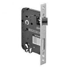 Fechadura JNF 826 com chave reversível, trinco silencioso