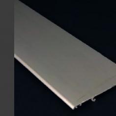 Barra de perfil guarnição fixação lateral á parede em alumínio
